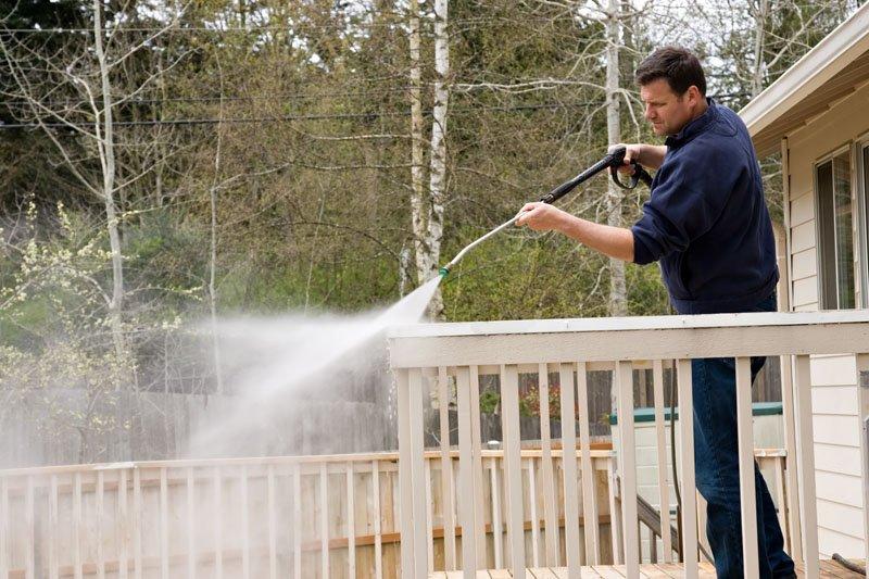 Power Washing Decks, Fences, Sidewalks Spartan Lawn Care