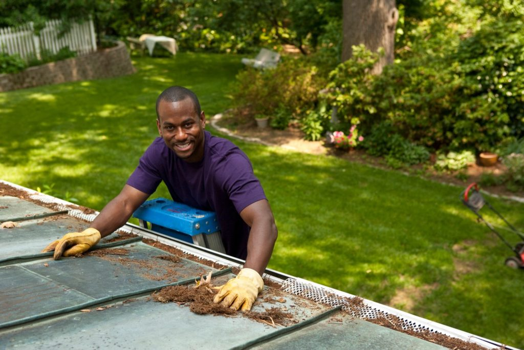 Gutter Cleaning Service Spartan Lawn Care